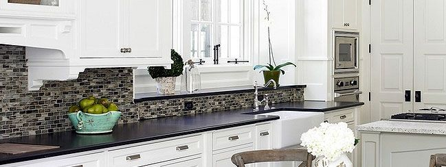 17 Best images about kitchen on Pinterest | Slate backsplash, Cabinets and  Countertops