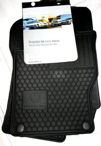 Genuine Mercedesbenz Q6680686 Rubber Floor Mats W164 Ml320 Ml350 Ml550 Black Auto88 Click Image To R Automotive Solutions Mercedes Ml320 Rubber Floor Mats