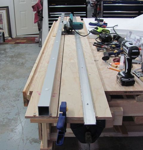 Hillbilly Track Saw By Seawitch Lumberjocks Com Woodworking Community Woodworking Best Circular Saw Woodworking Tools For Beginners