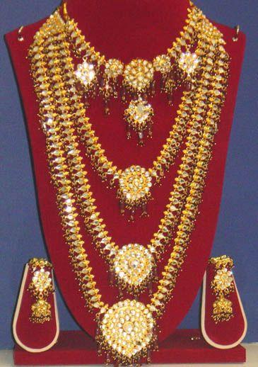 Indian wedding jewelry Parures Pinterest Indian wedding