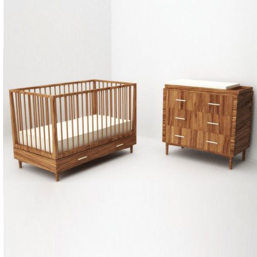 Nextgigglenursery Olive Nursery Crib Dresser With Changer
