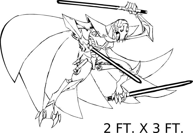 Image Result For General Grievous Coloring Page Coloring Pages