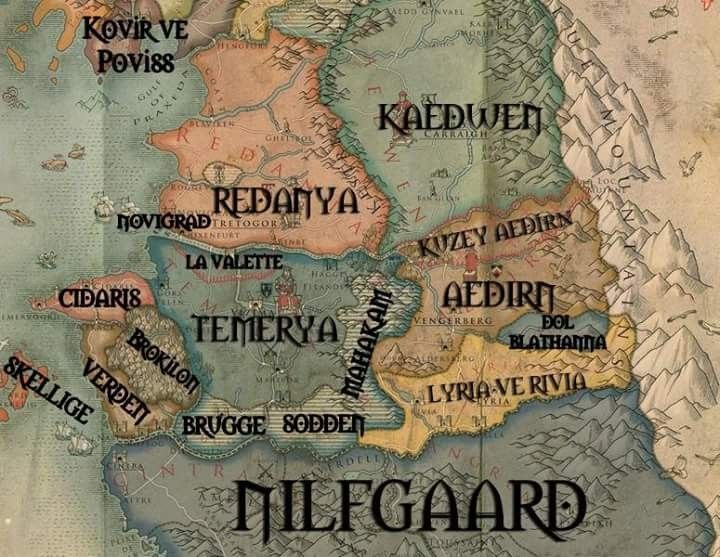 The World of the Witcher | The Witcher in 2018 | Pinterest | The ...