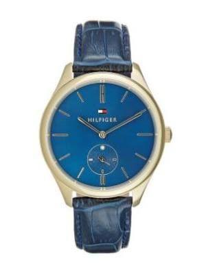 Tommy Hilfiger Sofia Reloj Goldfarben Blau reloj Tommy Hilfiger Sofia reloj Goldfarben Blau Noe.Moda