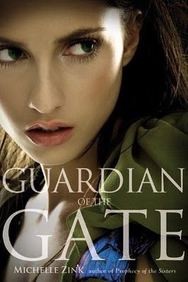 Guardian of The Gate (Prophecy of the Sisters #2) by Michelle Zink:  As 16year-old Lia Milthorpe searches for a way to end the prophecy, her twin sister Alice hones the skills she'll need to defeat Lia. Alice will stop at nothing to reclaim her sister's role, and that's not the only thing she wants: There's also Lia's boyfriend James. Lia and Alice always knew the Prophecy would turn those closest to them against them. In the end, only 1 sister will be left standing.