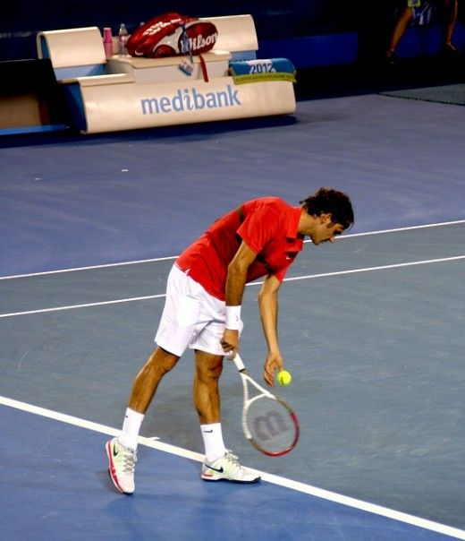 The 4 Main Types Of Tennis Serves Tennis Serve Roger Federer Tennis Workout