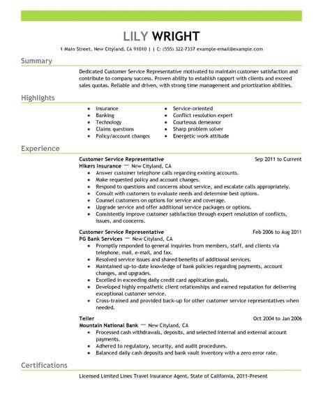 resume examples 2018 customer service customer examples resume resumeexamples service - Customer Service Resume