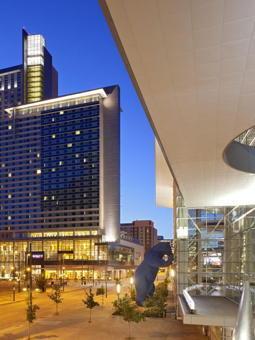Luxury Hotel Adjacent To The Colorado Convention Center And Blue Bear Hyatt Regency Denver