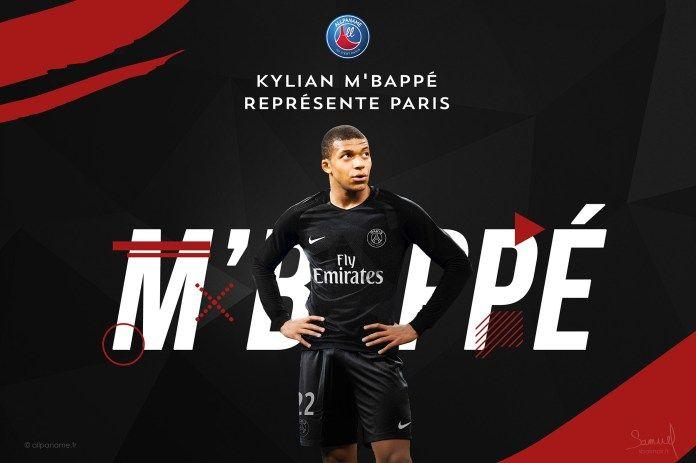 Kylian Mbappe PSG Wallpaper HD