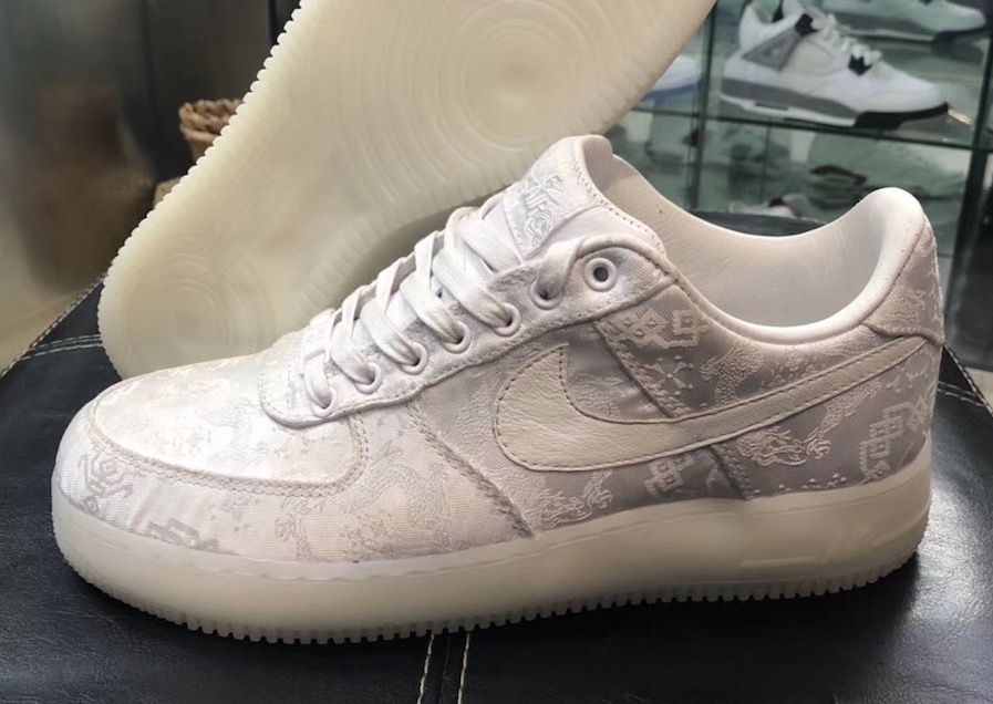 5eee8491ce66 Release Date  CLOT x Nike Air Force 1 Low 1WORLD