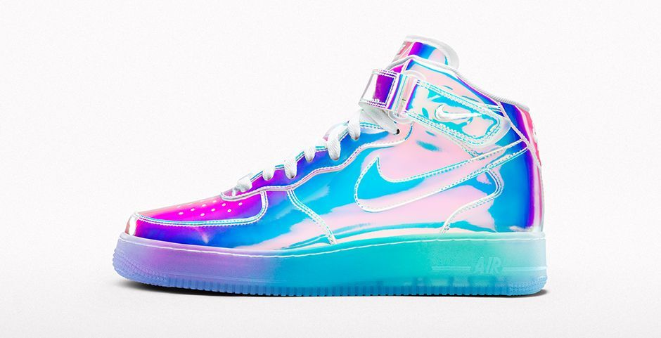 Nike Air Force 1 Mid Id De Longle Iridescent