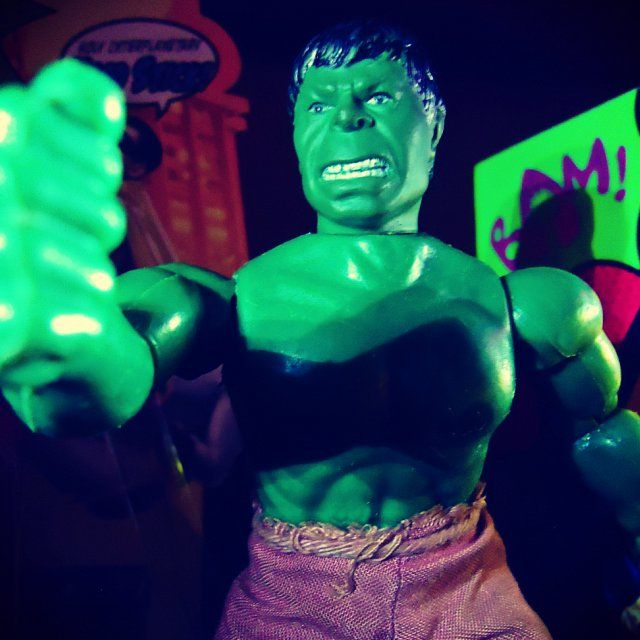 "230 - My Dr Bruce ""The HULK"" Banner, one of the most famous MEGO toys on the face of the Earth (1977 8"" Mego Toys Corp)"