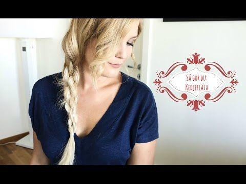 Elins hårblogg visar hur du gör en kedjefläta