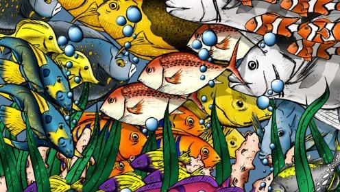 BUNCHES OF FISHES WALLPAPER - (#17429) - HD Wallpapers - [WallpapersInHQ.com]