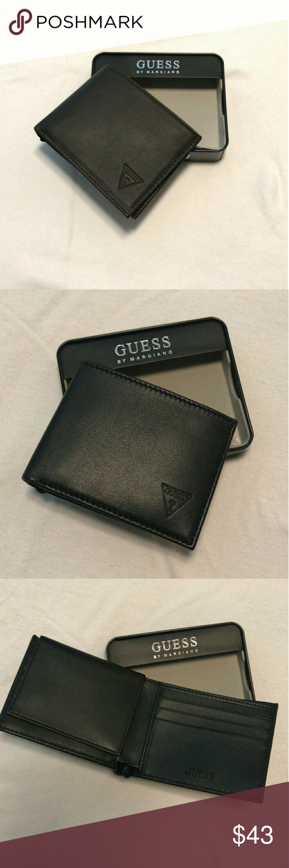 authentic GUESS leather wallet new in box Brand new in box 70e9b5cd74d74