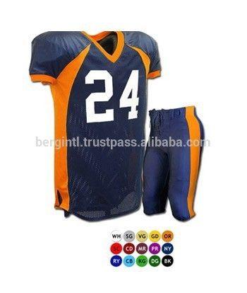 Custom American Football Uniforms by  bergwears. Start customization of your   football  teamwear with BERG 46935b342