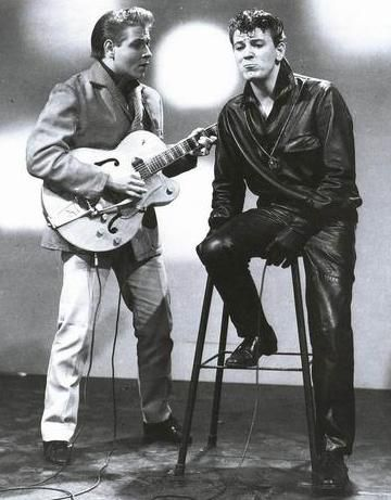 """""""iF Eddie and Gene had lived , they would have formed the world's first kick - ass Rock'n'Roll band."""" Mick Farren. ummmmmm...but Eddie , Gene , Johnny Burnette , and even Elvis had done that , previously."""