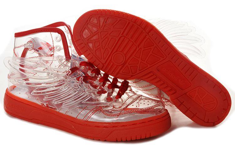 71a0445d14455 Adidas Jeremy Scott Wings GS - Chaussure Adidas Pas Cher Pour Femme Enfant