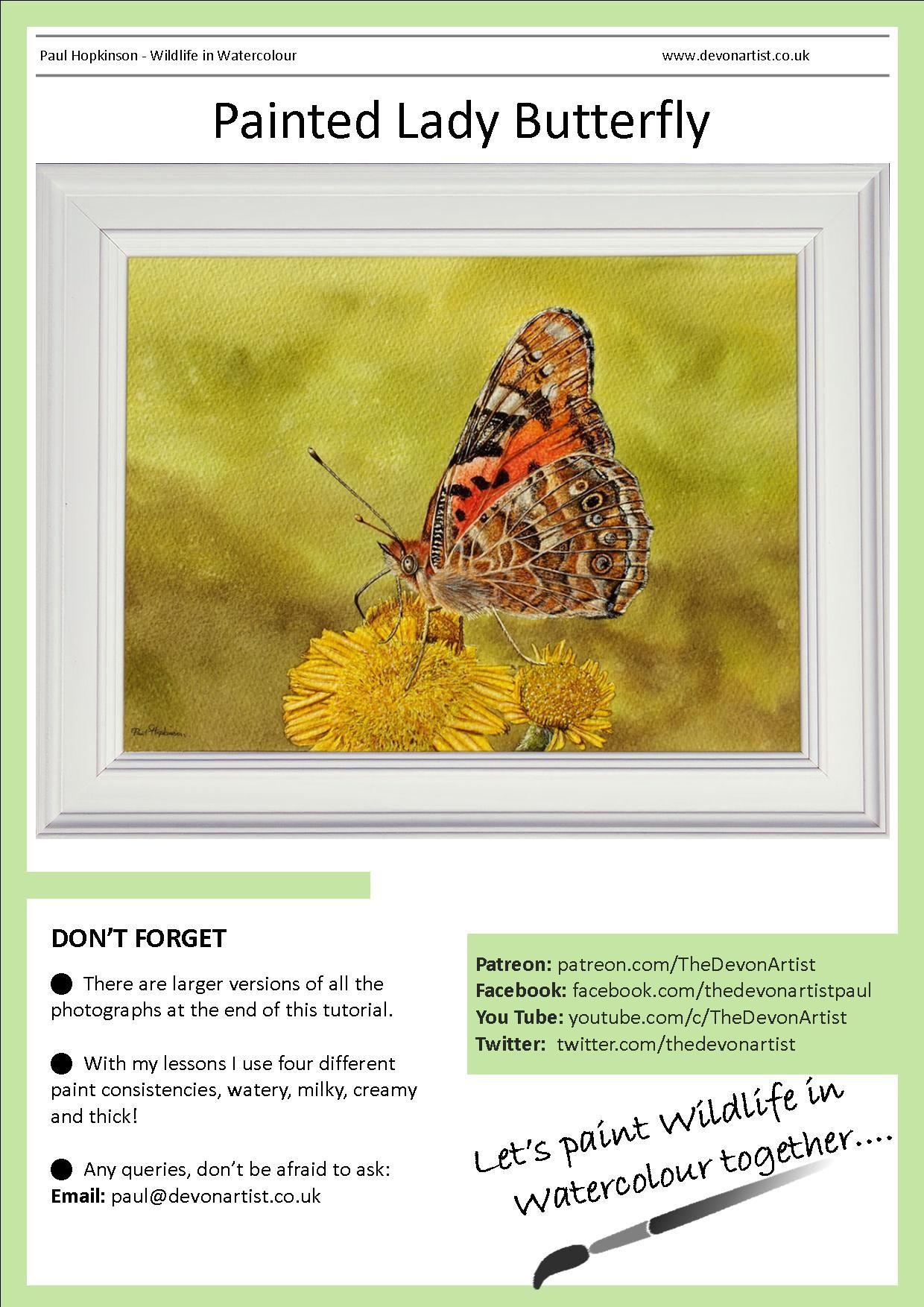 Watercolour Tutorials Digital Pdf Downloads Watercolour