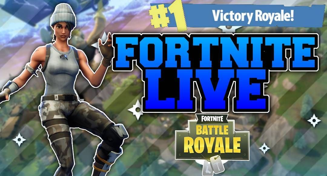 New Thumbnail For My Live Videos For Fortnite Who Fw It Follow If