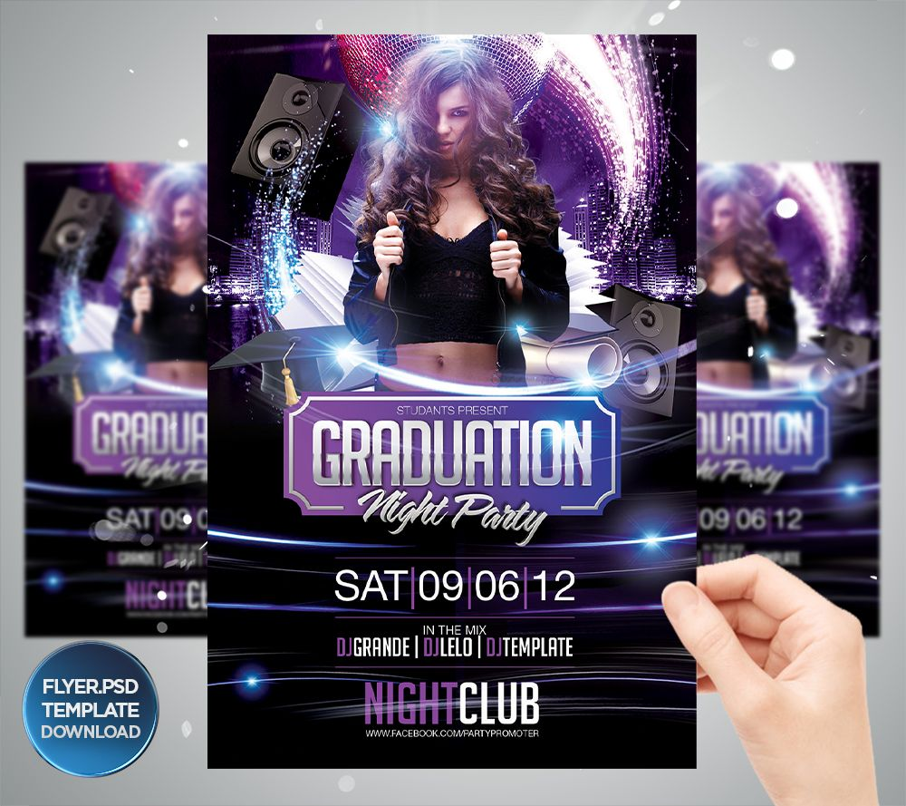 pin by grandelelo design on party flyer template downloads