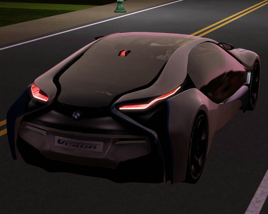 Mod The Sims - 2009 BMW EfficientDynamics Concept | Sims 3 Downloads ...