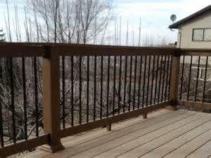 Wood Deck Railing Ideas - Patio Design Ideas - 1692 | Wood ...