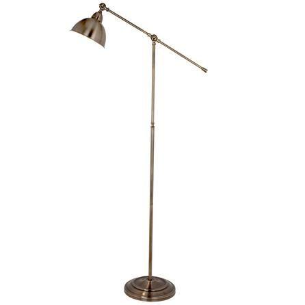 Antique Brass Lever Arm Floor Lamp Dunelm Antique Brass Floor Lamp Arm Floor Lamp Brass Floor Lamp