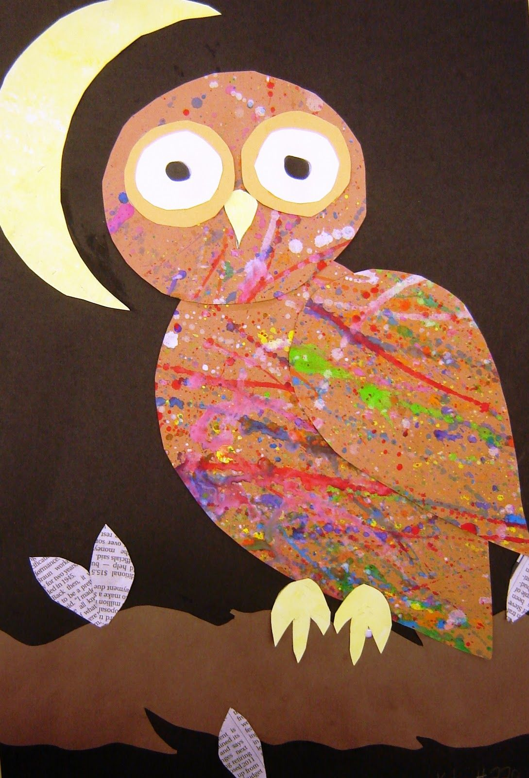 More Owls Awesome Art Idea
