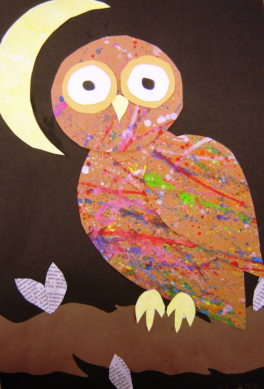 More Owls Awesome Art Idea