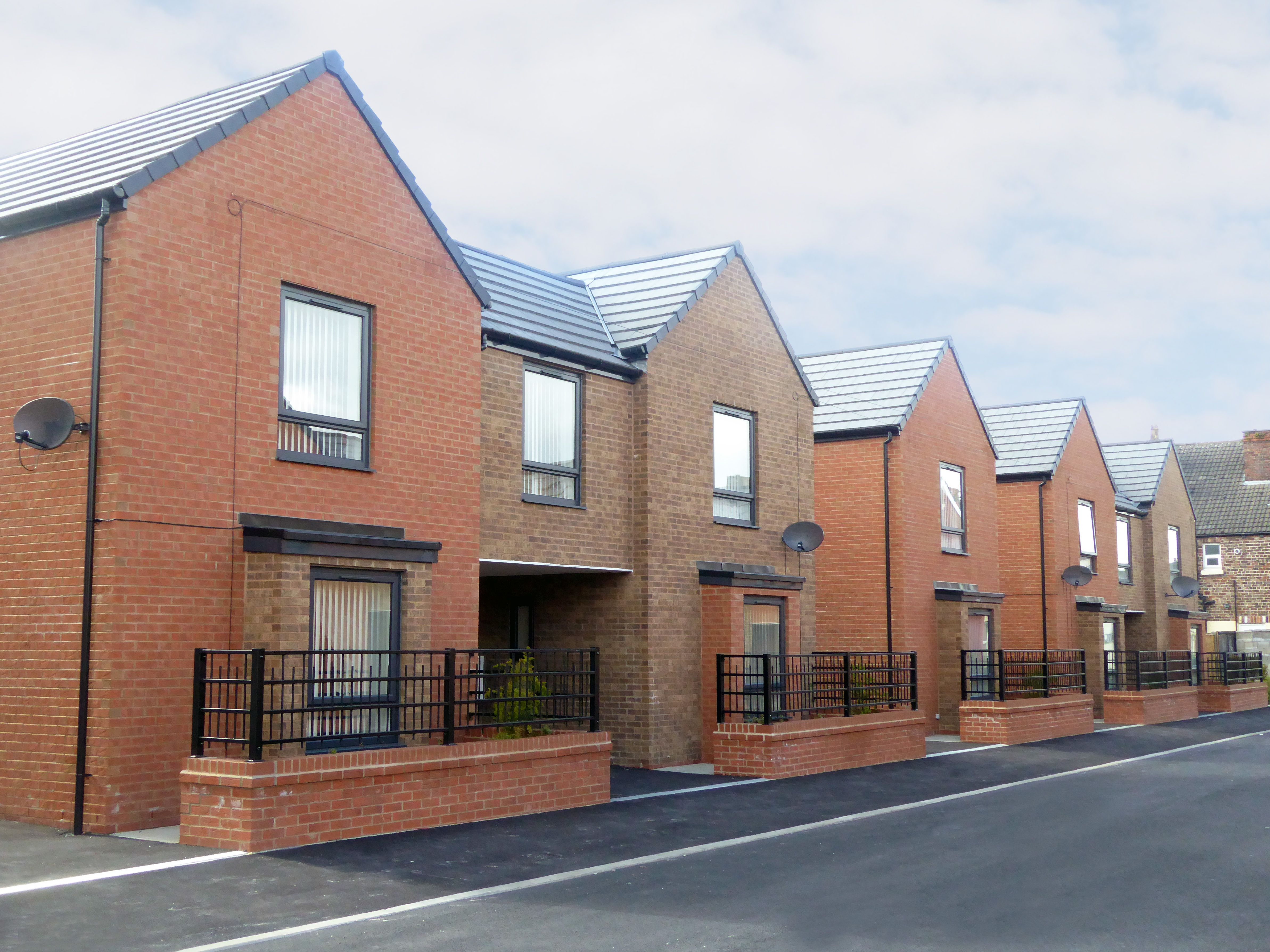 Alford Street Fairfield Liverpool Nominated For The Best High Volume New Housing Development At Th New Housing Developments Sustainable Home Renting A House