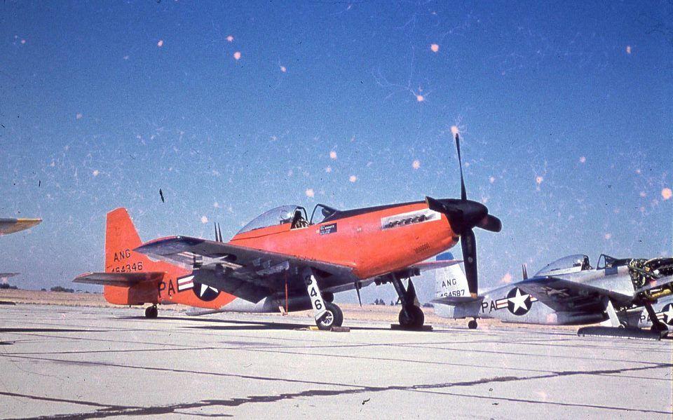 P51H of the US Air National Guard, circa 1954. P51