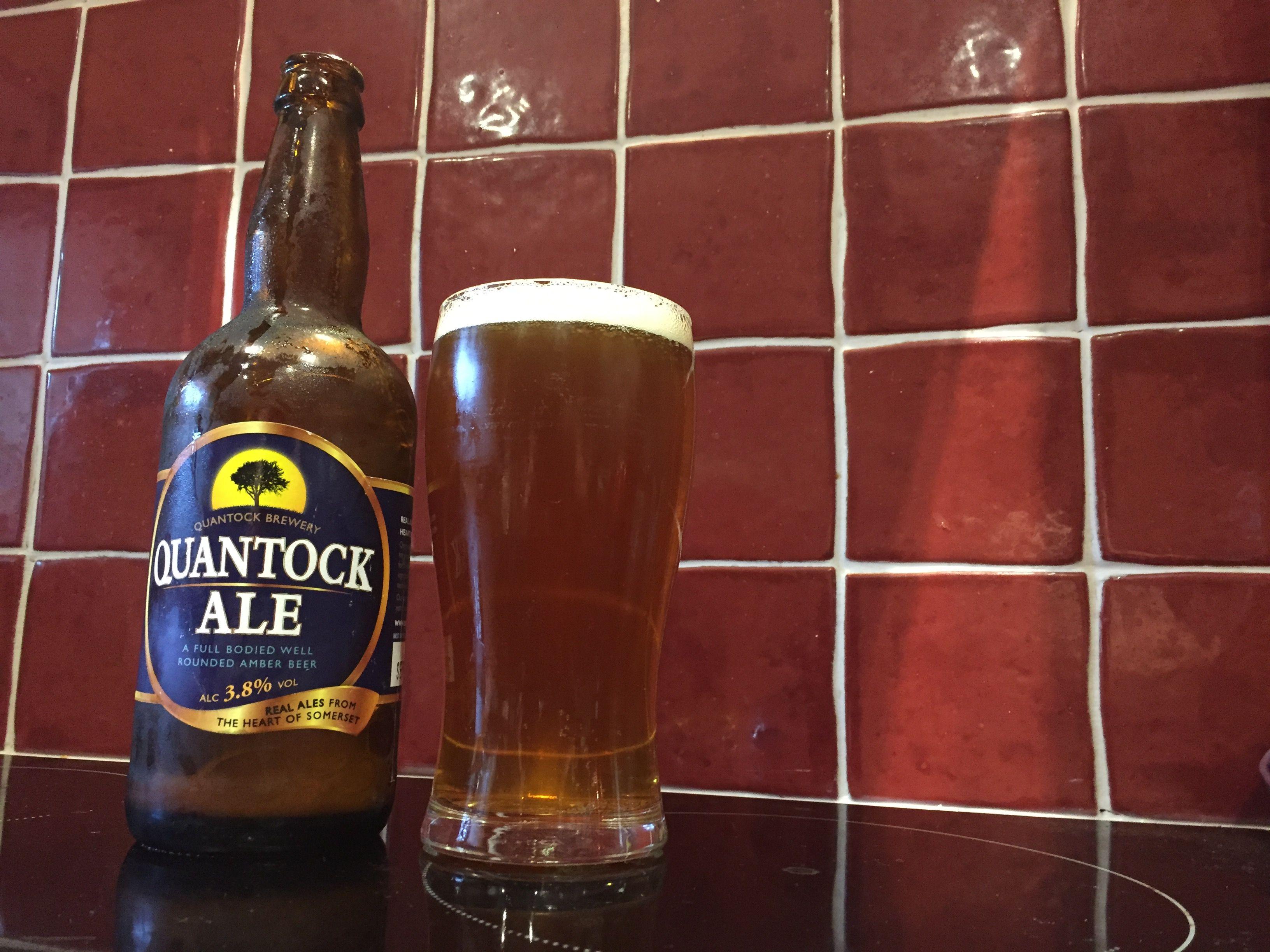 Quantock Brewery Ale Cerveza