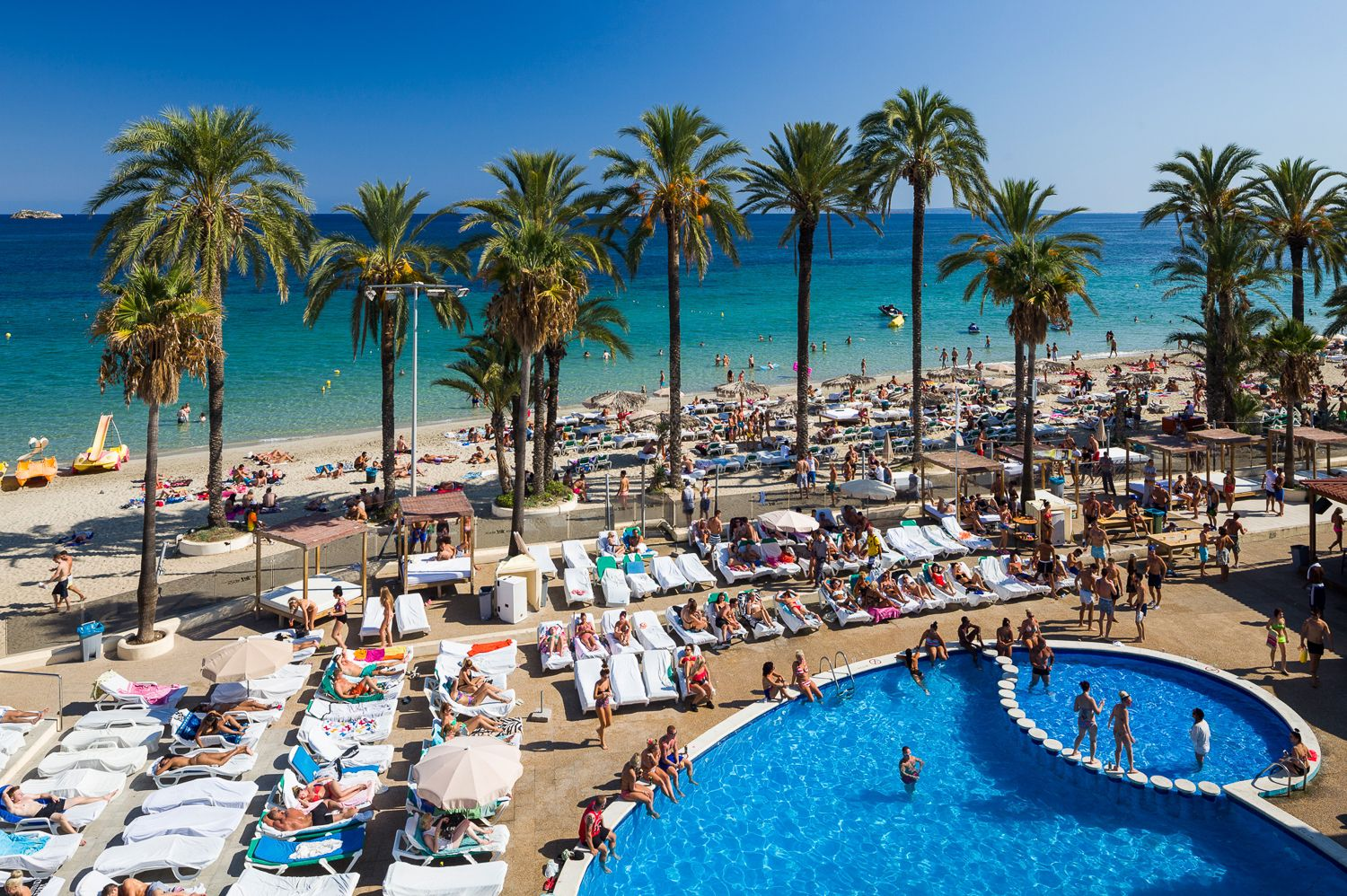travel to ibiza and barcelona, spain with benmoor travel on an all
