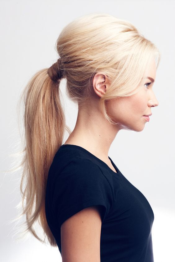 Ponytail Hairstyles Style Your Wrap Around Ponytail With Perfect Outfits With Images