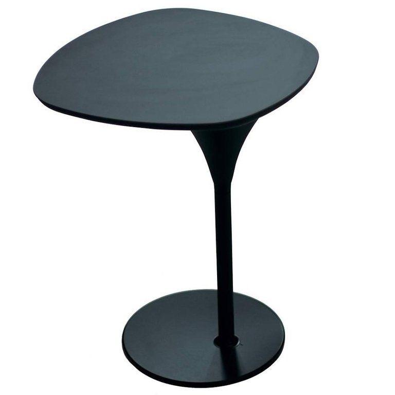 Moroso Side Table Bloomy Black Patricia Urquiola Laminam Italian