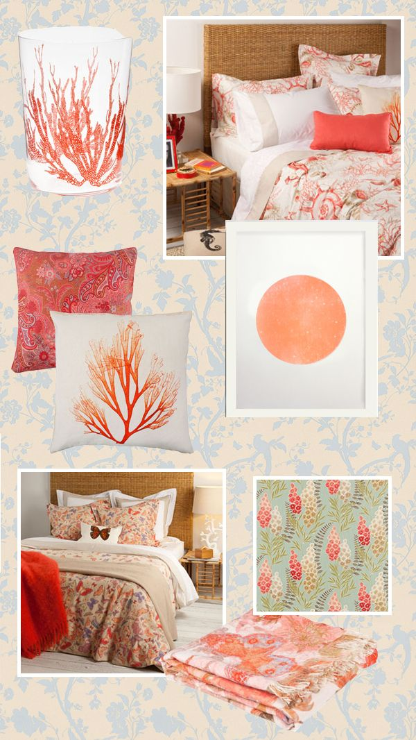 Coral And Blue Guest Bedroom Makeover Part 51