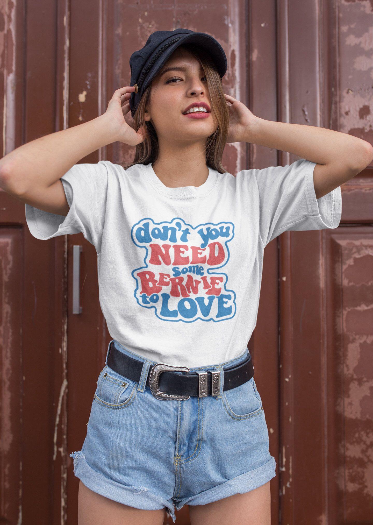 Bernie Sanders 2020 Shirt Unisex T Shirt Don T You Etsy Clothes Outfits Women