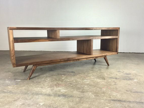 6ae018c6467 The Bacon a mid century modern TV console TV stand by MonkeHaus ...