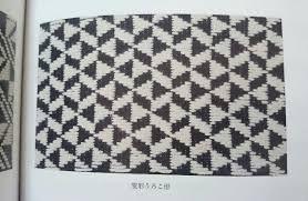 Resultado de imagen de こぎん刺し  うろこ