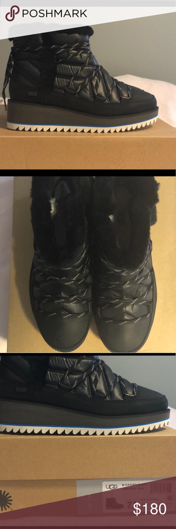 UGG Cayden Waterproof Winter Boots in