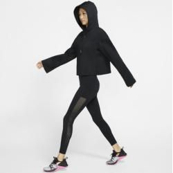 Sudadera con capucha de entrenamiento para mujer Nike Fringe – NikeNike negro