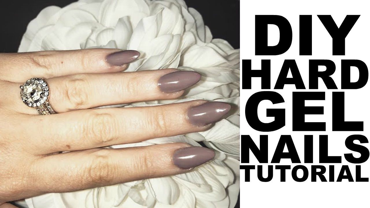 How to hard gel nails at home diy gel extensions hashtag how to hard gel nails at home diy gel extensions solutioingenieria Images