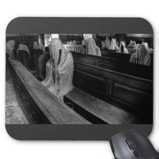 Mousepad - Lost Place - Geisterkirche #ghost #lostplace