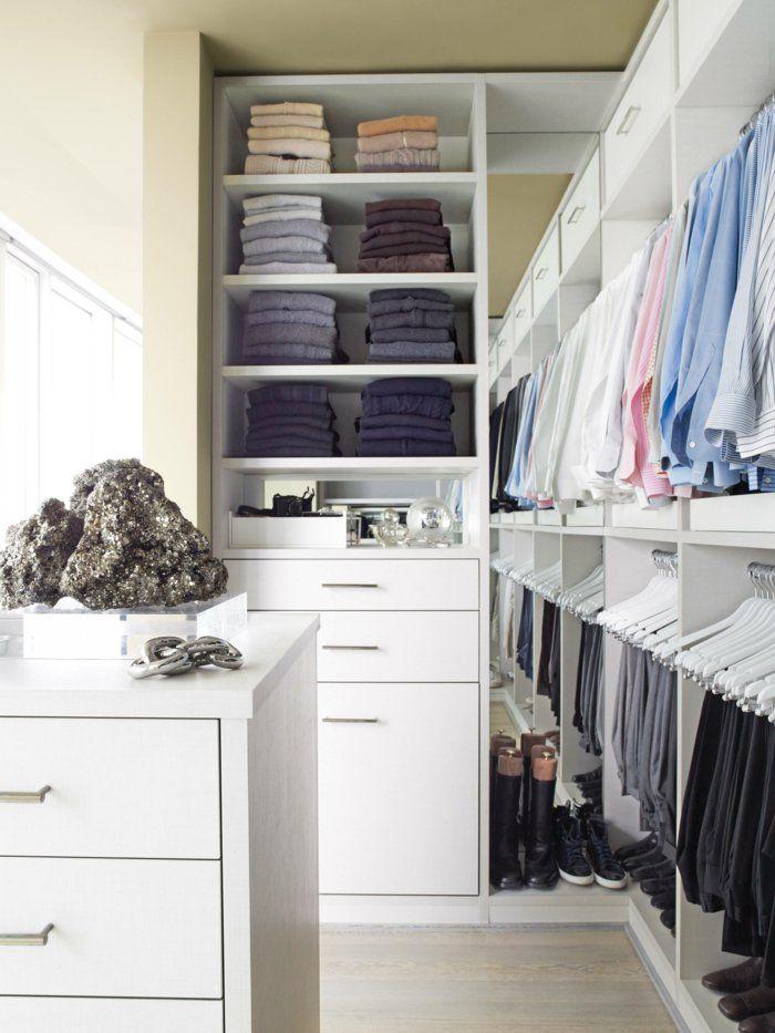 schlafzimmer mit begehbarem kleiderschrank eine perfekte ordnung rooms pinterest vestidor. Black Bedroom Furniture Sets. Home Design Ideas