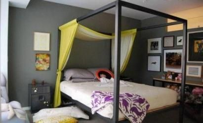 Bedroom gray walls with a pop of color yellow 52+ ideas for 2019 #graybedroomwithpopofcolor Bedroom gray walls with a pop of color yellow 52+ ideas for 2019 #bedroom #graybedroomwithpopofcolor