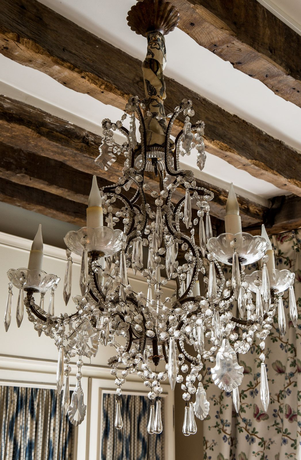 Pretty chandelier elements of my ideal french home pinterest pretty chandelier arubaitofo Images