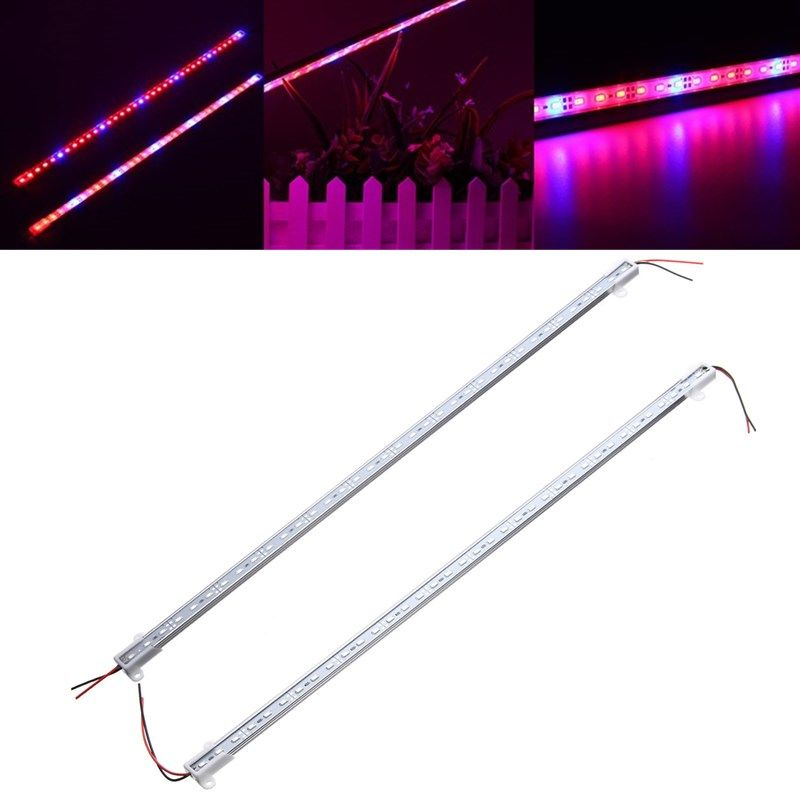 50cm Smd5630 Hydroponic Indoor Outdoor Veg Flower Plant Led Grow Light Bar Rigid Strip Lamp Dc12v Indoor Lighting From Lights Lighting On Banggood Com Led Grow Lights Led Bar Lighting