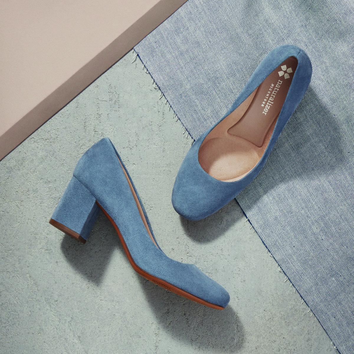 Heels, Block heels pumps