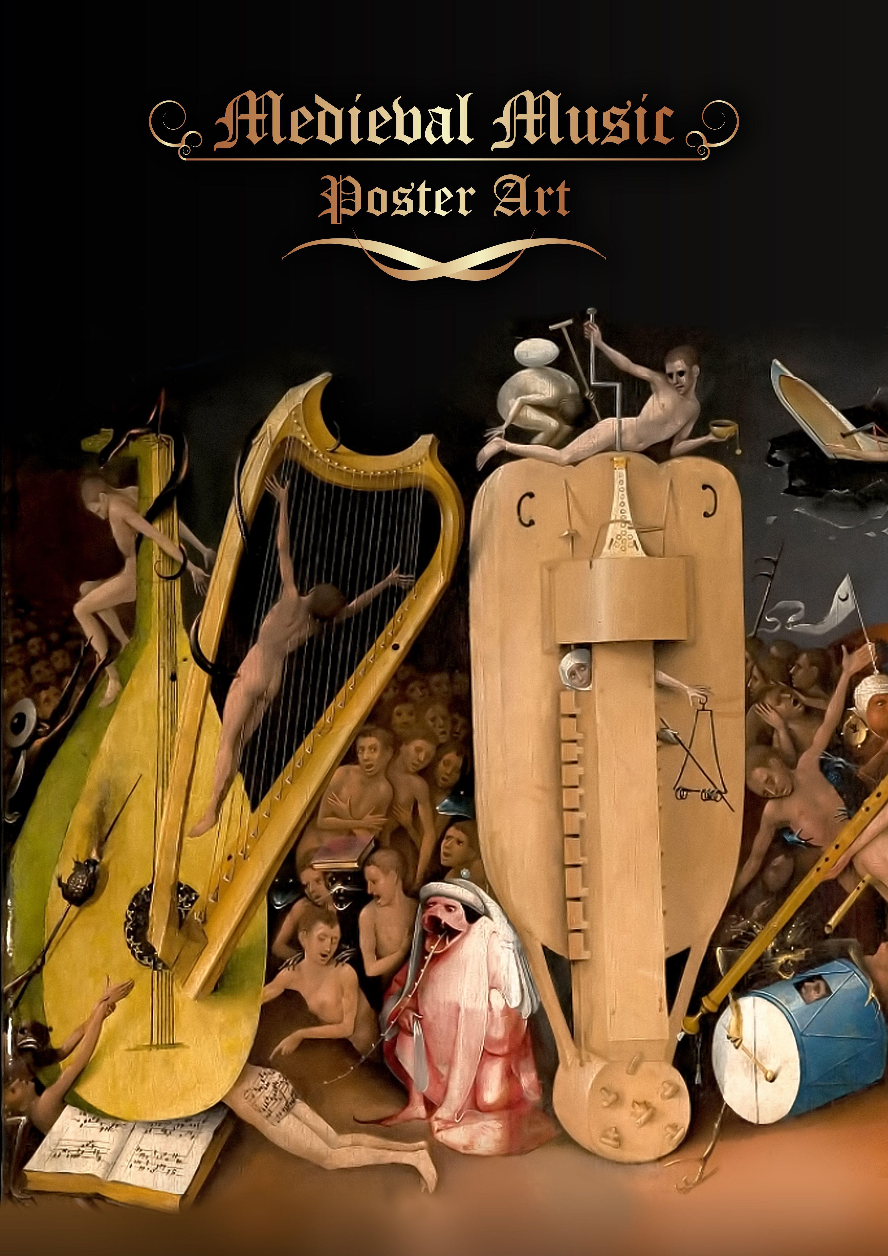 Poster design sample - Medieval Music Poster Design Sample 2 Http Www Jotformpro Com